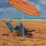 beach 80x 100cm