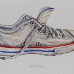 Sneaker-2014-Aquarell-47-x-78-cm