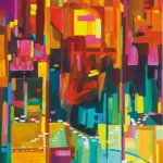Elevator-2013-Acryl-auf-Leinwand-120x80cm