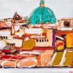 _Horizons--Roofs-of-Vienna--50-x-50-cm