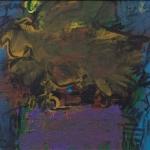 Angry-Horus_1998_Acryl-auf-Leinwand_31x38cm