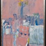 Pink-Motif_1993_Acryl-auf-Leinwand_180x120cm