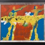 The-Duet_1995_Acryl-auf-Leinwand_51x61cm