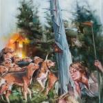 hot-dogs-210x155-oel-auf-leinwand-2014