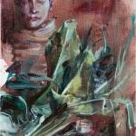oT(Portrait-mit-Blumen)-2015-Oel-auf-Leinwand-30x40cm