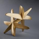 Rolling Starfish, 2010, Bronze, 34 x 32 x 32 cm