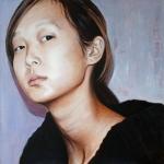 Pia I - 2005 - 70 x 70 cm Acrylic on Canvas