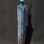 Fichte-Nussbaum-Treibholz-Keramik